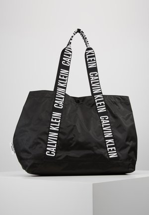 INTENSE POWER BEACH TOTE - Håndtasker - black