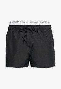 Calvin Klein Swimwear - DOUBLE WAISTBAND - Short de bain - black - 2