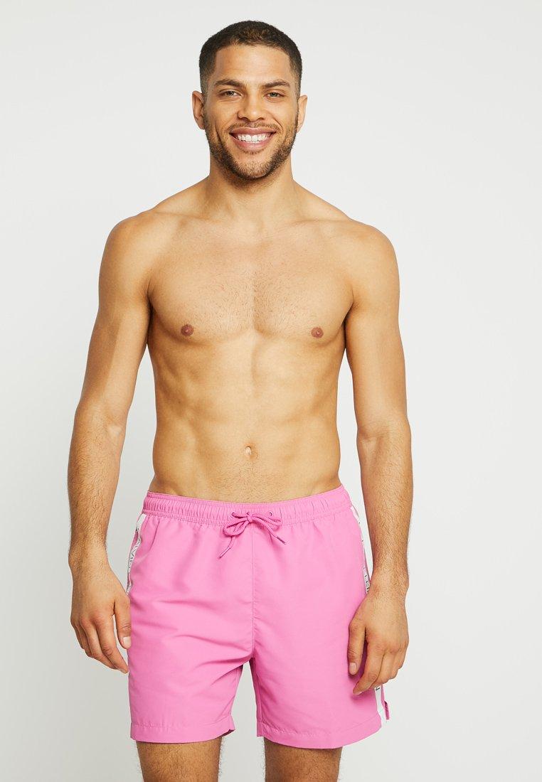 Calvin Klein Swimwear - MEDIUM DRAWSTRING - Zwemshorts - phlox pink
