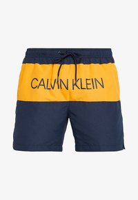 Calvin Klein Swimwear - MEDIUM DRAWSTRING BLOCK - Zwemshorts - blue - 2