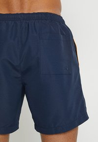 Calvin Klein Swimwear - MEDIUM DRAWSTRING BLOCK - Zwemshorts - blue - 1
