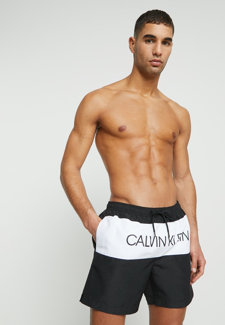 Medium De BlockShort Drawstring Calvin Swimwear Black Klein Bain Nn0O8wkZPX