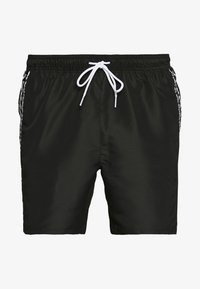 Calvin Klein Swimwear - MEDIUM DRAWSTRING - Shorts da mare - black