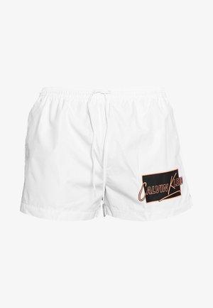 DRAWSTRING - Shorts da mare - white