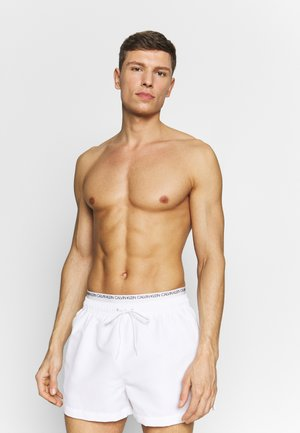 DOUBLE - Swimming shorts - white