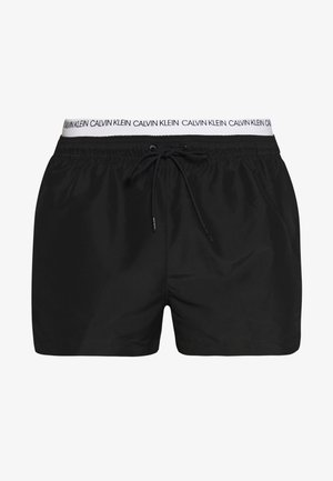DOUBLE - Short de bain - black
