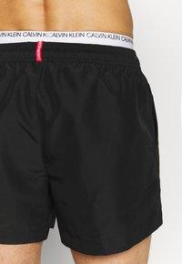 Calvin Klein Swimwear - DOUBLE - Zwemshorts - black - 1