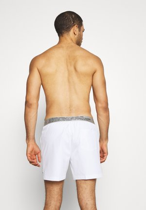 MEDIUM DRAWSTRING - Badeshorts - white