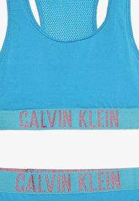 Calvin Klein Swimwear - BRALETTE SET - Bikini - malibu blue - 4