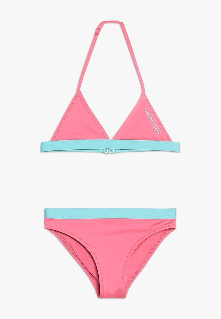Calvin Klein Swimwear - TRIANGLE SET - Bikini - azalea pink