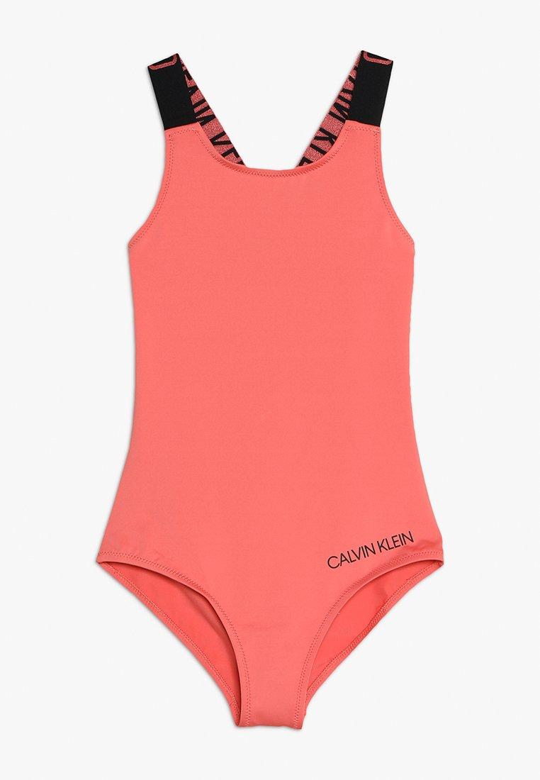 Calvin Klein Swimwear - SWIMSUIT - Badedragter - georgia peach
