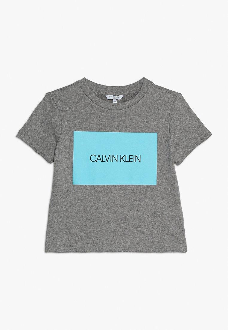 Calvin Klein Swimwear - CROP - Beach accessory - grey heather