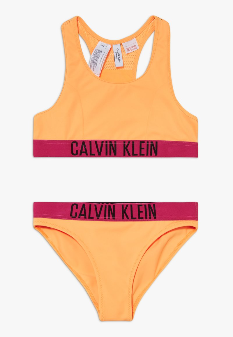 Calvin Klein Swimwear - BRALETTE INTENSE POWER SET - Bikini - orange