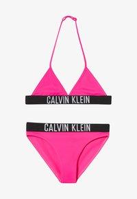Calvin Klein Swimwear - TRIANGLE INTENSE POWER SET - Bikini - pink - 2