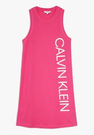 DRESS PLACED LOGO - Doplňky na pláž - pink