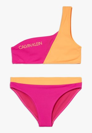 BANDEAU SET - Bikiny - pink