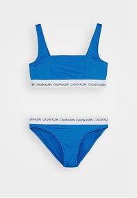 Calvin Klein Swimwear - BRALETTE SET - Bikinier - blue - 0
