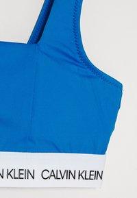 Calvin Klein Swimwear - BRALETTE SET - Bikinier - blue - 2