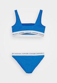 Calvin Klein Swimwear - BRALETTE SET - Bikinier - blue - 1