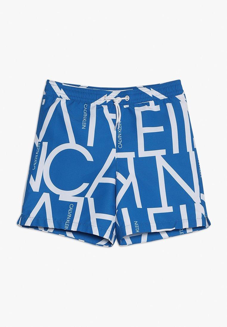 Calvin Klein Swimwear - MEDIUM DRAWSTRING - Shorts da mare - imperial blue