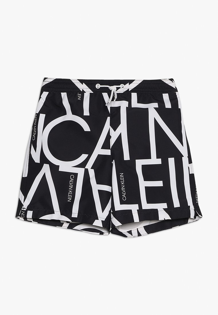 Calvin Klein Swimwear - MEDIUM DRAWSTRING - Badeshorts - black