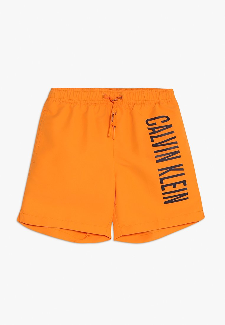 Calvin Klein Swimwear - MEDIUM DRAWSTRING - Swimming shorts - turmeric