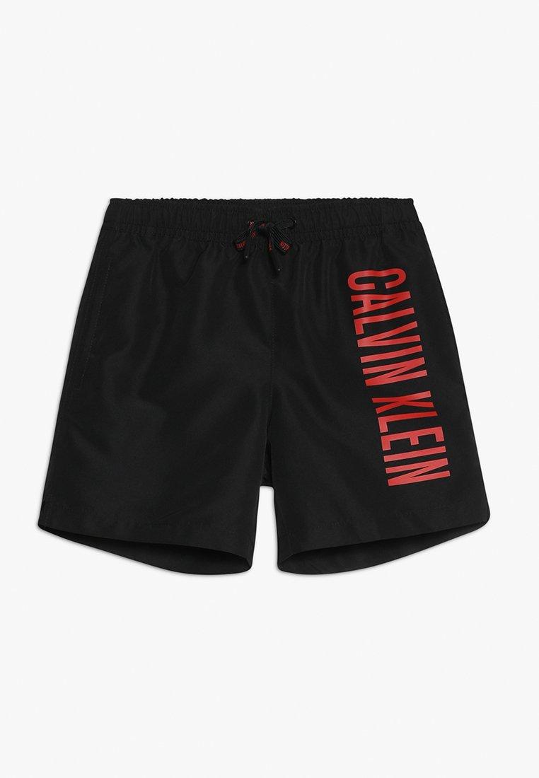 Calvin Klein Swimwear - MEDIUM DRAWSTRING - Badeshorts - black