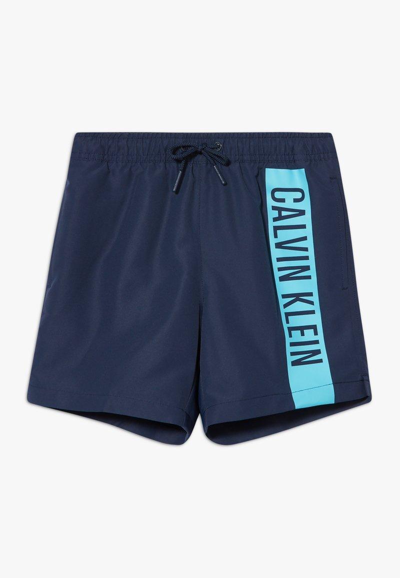 Calvin Klein Swimwear - MEDIUM DRAWSTRING INTENSE POWER - Plavky - blue