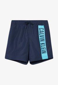 Calvin Klein Swimwear - MEDIUM DRAWSTRING INTENSE POWER - Plavky - blue - 3