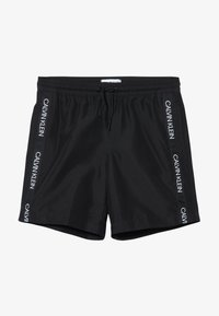 Calvin Klein Swimwear - MEDIUM DRAWSTRING LOGO - Plavky - black - 2