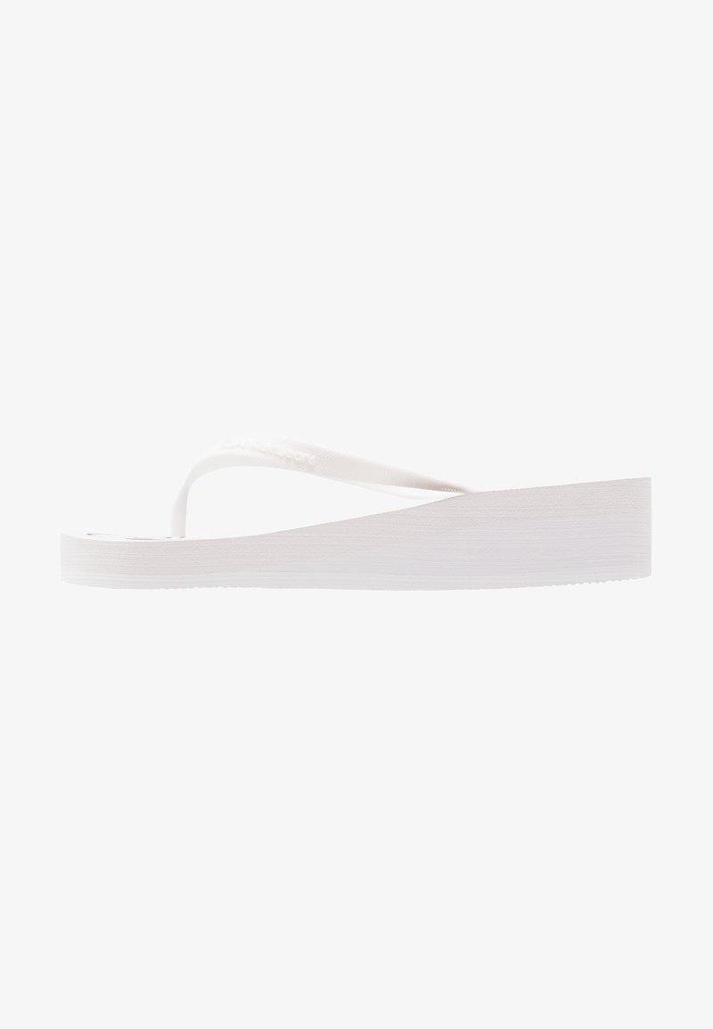 Calvin Klein Jeans - TESSE - Tongs - white