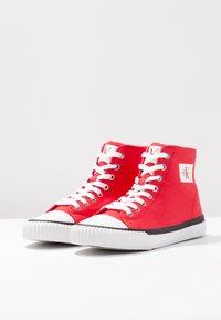 Calvin Klein Jeans - ISIDORA - Baskets montantes - tomato - 4