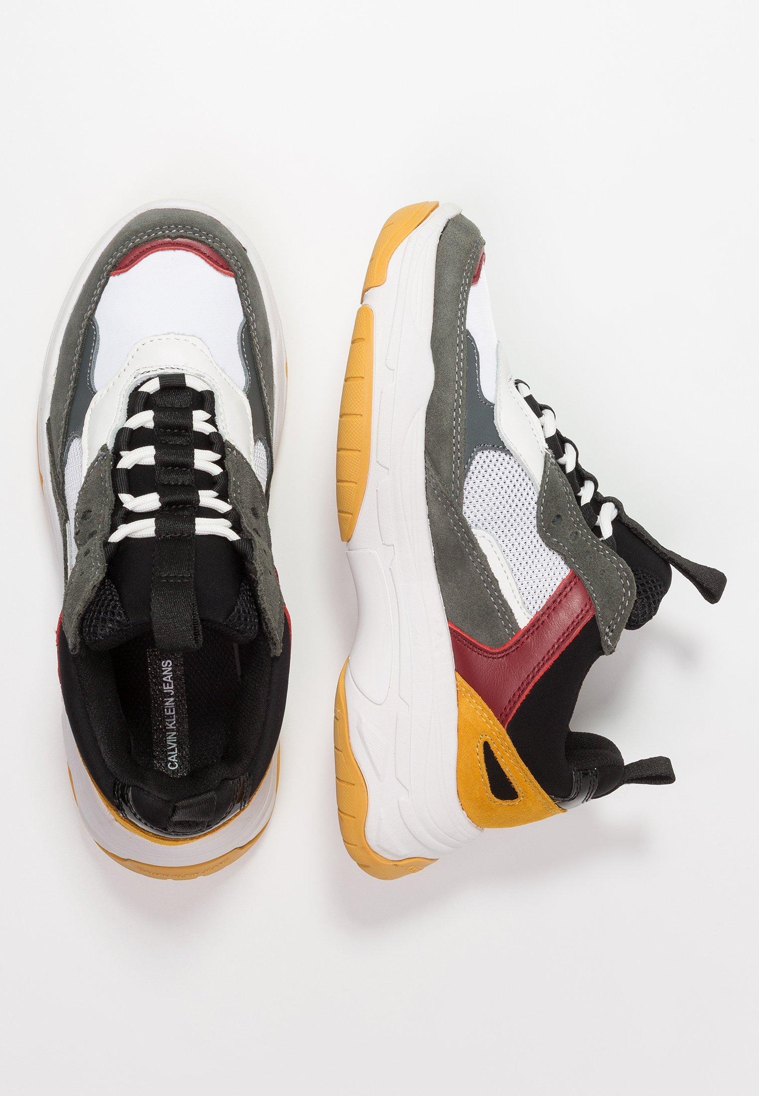 Calvin Klein Jeans Maya - Sneakers White/black/grey/rosso