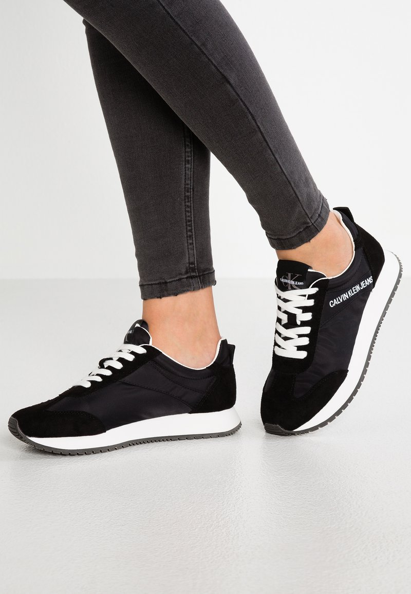 Calvin Klein Jeans - JILL - Baskets basses - black