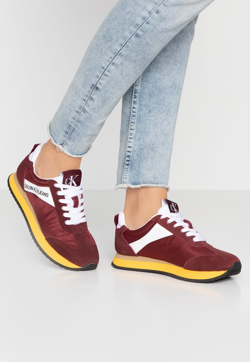 Calvin Klein Jeans - JILL - Trainers - multicolor/beet/red