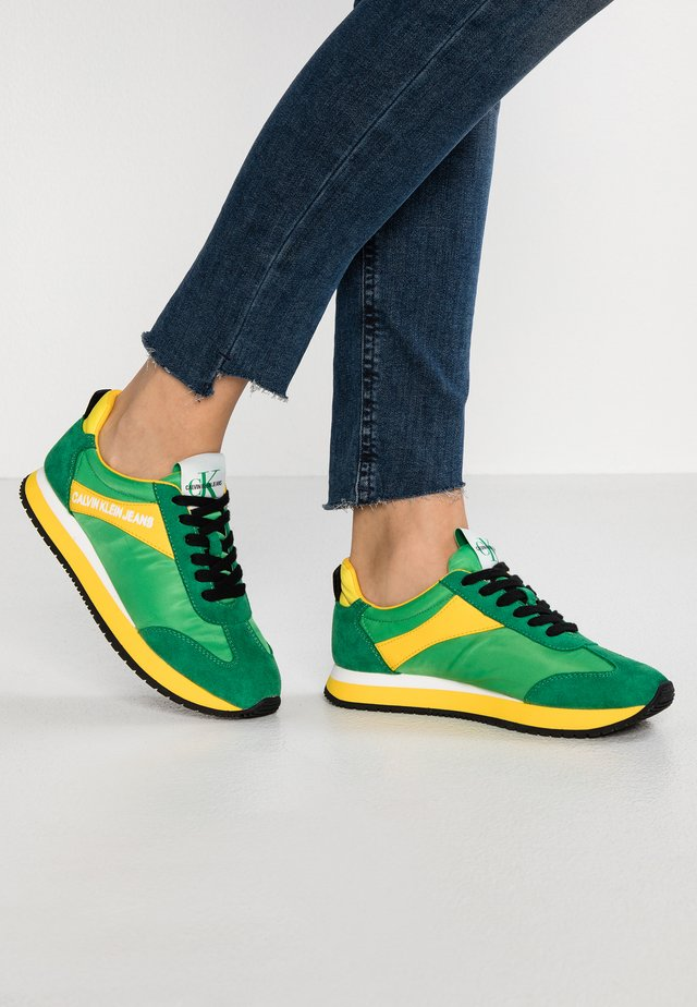 JILL - Baskets basses - multicolor/green