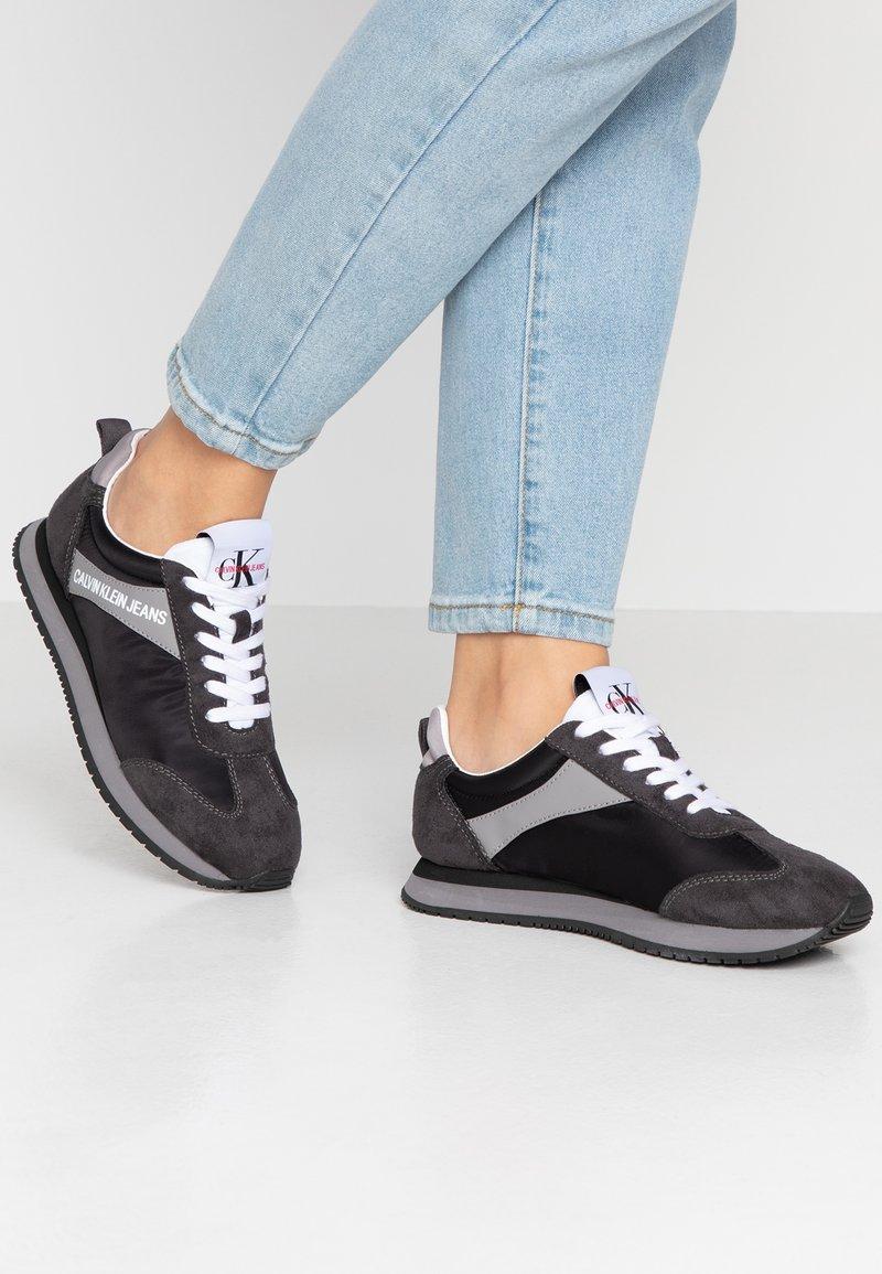 Calvin Klein Jeans - JILL - Trainers - black