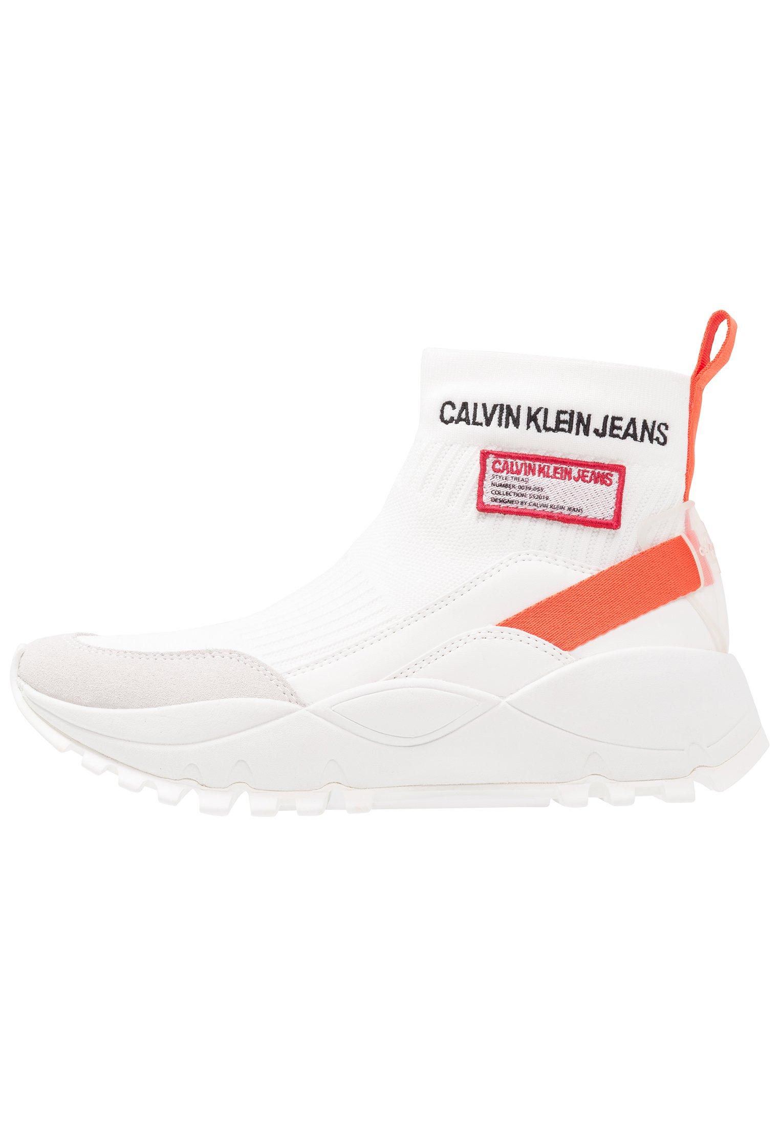 Calvin Klein Jeans TYSHA Baskets montantes bright white