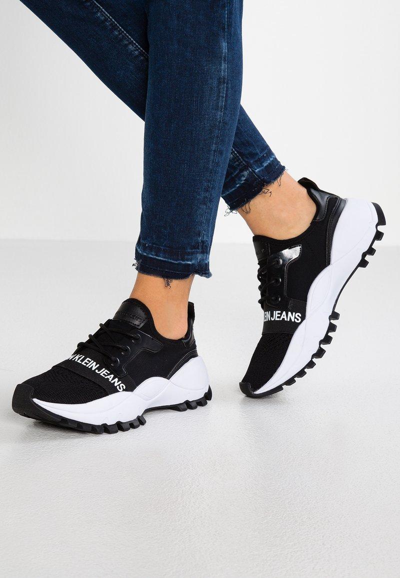 Calvin Klein Jeans - TALULA - Sneakers - black
