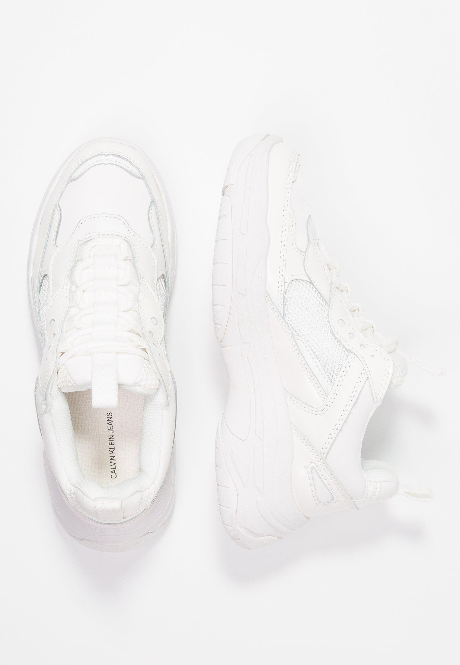 Calvin Klein Jeans MAYA - Sneakers - bright white