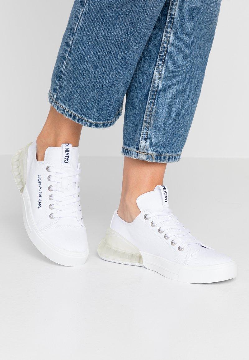 Calvin Klein Jeans - MYRTIE - Trainers - white