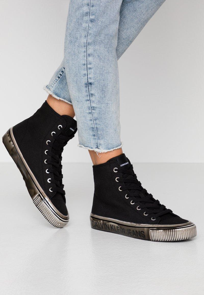 Calvin Klein Jeans - DELORIS - Vysoké tenisky - black