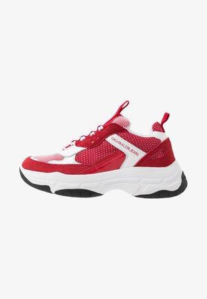 MAYA - Trainers - white/red