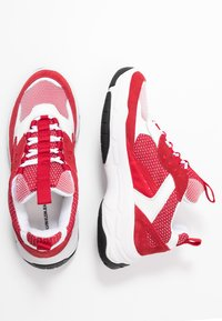 Calvin Klein Jeans - MAYA - Zapatillas - white/red - 3
