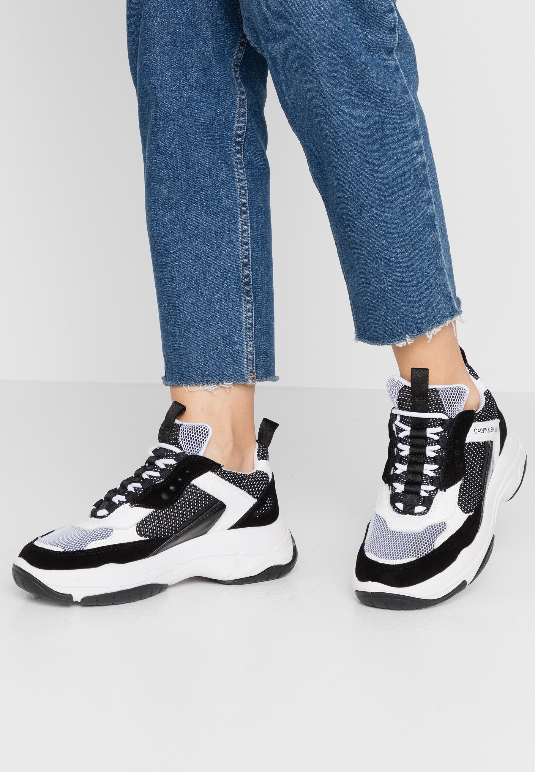 Calvin Klein Jeans MAYA Sneakers laag black Zalando.nl