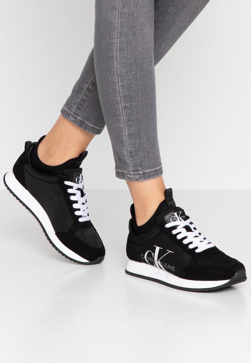 Calvin Klein Jeans - JOSSLYN - Trainers - black