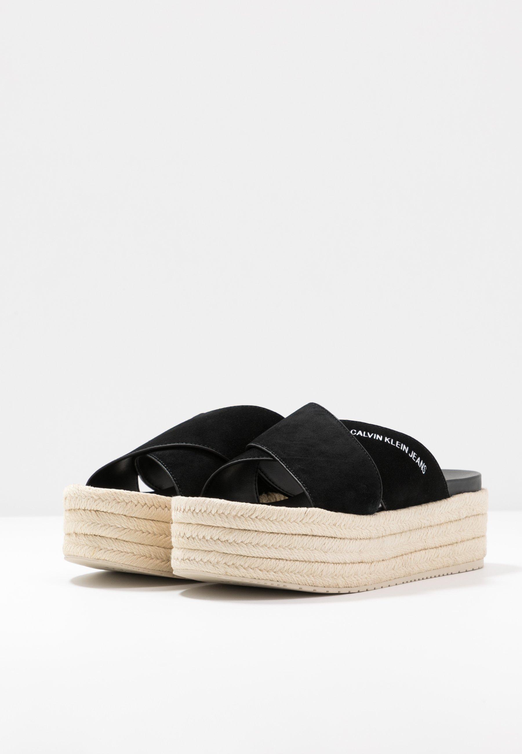 Calvin Klein Jeans FERNANDA - Sandaler - black