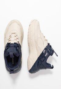Calvin Klein Jeans - MADELIA - Zapatillas - stone/navy - 3