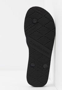 Calvin Klein Jeans - DORINDA - Badesko - black - 6