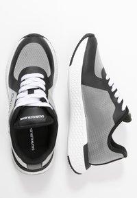 Calvin Klein Jeans - AMEDEA - Sneakers laag - black/white - 3